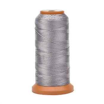 Hilos de nylon, para la fabricación de la joya, plata, 0.12 mm; aproximamente 1500 m / rollo