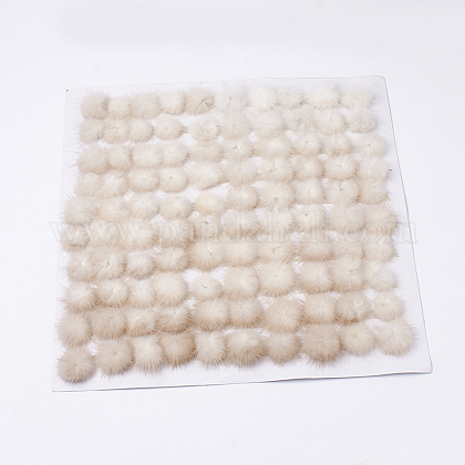 Faux Mink Fur Ball DecorationFIND-S267-4cm-14-1