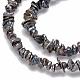 Hebras de perlas keshi de perlas barrocas naturalesPEAR-Q004-33A-3