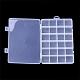 Recipientes de almacenamiento de abalorios de plásticoCON-Q031-02-3