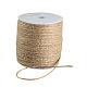 Cordón de cáñamo de color terrosoOCOR-R008-2mm-010