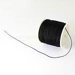 Плетеной нейлоновой нити, чёрные, 0.5 мм; около 150 ярдов / рулон (450 фута / рулон)