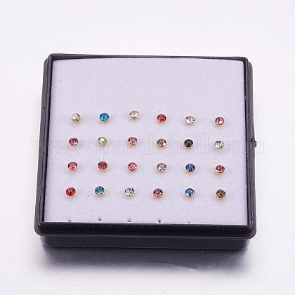 316L Stainless Steel Nose Studs Nose Piercing JewelryAJEW-P063-02-2.5mm-1