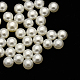 No Hole ABS Plastic Imitation Pearl Round BeadsMACR-F033-2mm-24-1