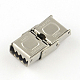 Smooth Surface 201 Stainless Steel Watch Band Clasps STAS-R063-61-2