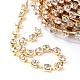 Cadenas de strass Diamante de imitación de bronceCHC-T002-SS16-01C-2