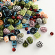 Mixed Antique Style Acrylic Beads/Pendants MACR-R546-05-1