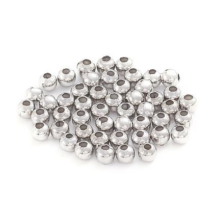 Abalorios de 304 acero inoxidableSTAS-G230-P02-1