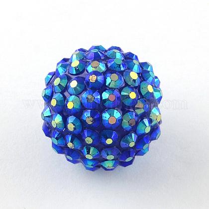 AB-Color Resin Rhinestone BeadsRESI-S315-28x30-17-1