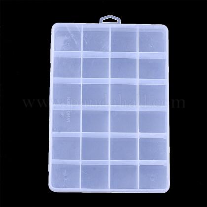 Recipientes de almacenamiento de abalorios de plásticoCON-Q031-02-1