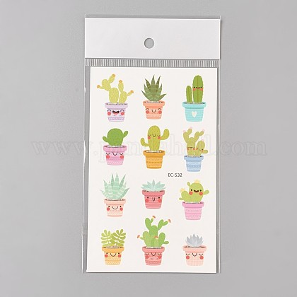 Removable Fake Temporary Water Proof Cartoon Tattoos Paper StickersAJEW-WH0061-C01-1
