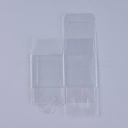 Transparent Plastic PVC Box Gift PackagingCON-WH0060-01A-1