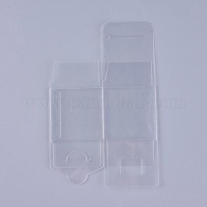 Emballage en plastique transparent de cadeau de boîte de PVCCON-WH0060-01A-1