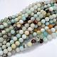 Natural Amazonite Beads StrandsG-G692-01-10mm-1