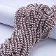 Glass Pearl Beads StrandsHY-6D-B27-4