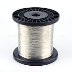 Copper Jewelry Wire, Gray, 0.3mm; 1600m/1000g