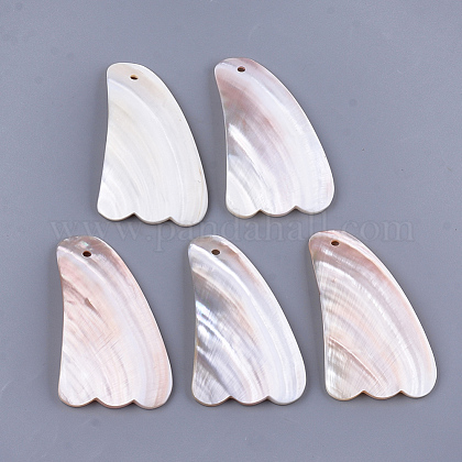 Freshwater Shell Gua Sha BoardsSSHEL-S258-67-1