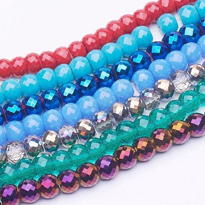 Hilos de vidrio y perlas de vidrio electrochapadoEGLA-E047-1