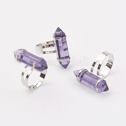 Bala anillos de cristalRJEW-P120-B19-1