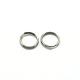 304 Stainless Steel Split Rings, Stainless Steel Color, 6x1.2mm; about 4.8mm inner diameter; 5000pcs/bag