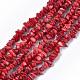 Sea Bamboo Coral(Imitation Coral) Beads StrandsX-CORA-T009-28-1