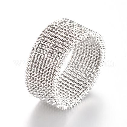 304 bases del anillo de dedo de acero inoxidableX-MAK-R010-19mm-1