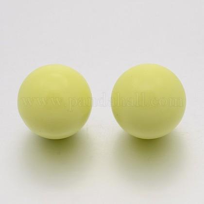 Нет отверстия спрей окрашены латунные круглый шар шарики подходят клетки подвескиKKB-J002-14-1