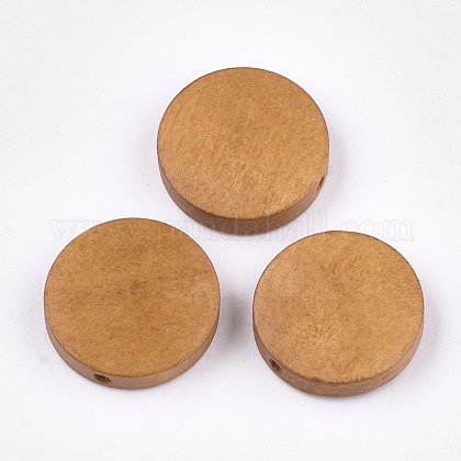 Painted Natural Wood BeadsWOOD-S049-02C-06-1