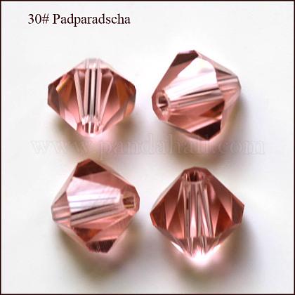 Abalorios de cristal austriaco de imitaciónSWAR-F022-8x8mm-319-1