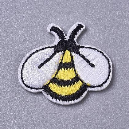 Tela de bordado computarizada para planchar / coser parchesDIY-I016-33-1