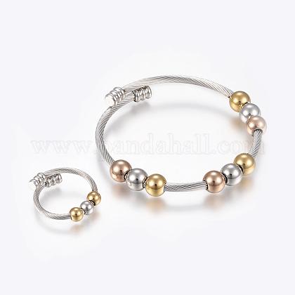 304 Stainless Steel Jewelry SetsBJEW-H123-05-1