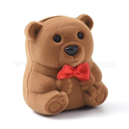 Бархатные шкатулки в форме медведяVBOX-L002-C01-1