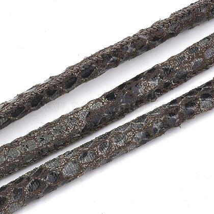 Cordones de cuero de PULC-S019-03E-1