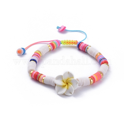 Pulseras de cordón trenzado de hilo de nylonBJEW-JB05092-04-1