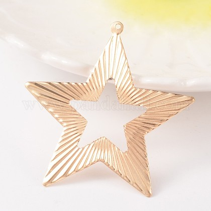 Star Iron Big Pendants X-IFIN-K009-24KC-1