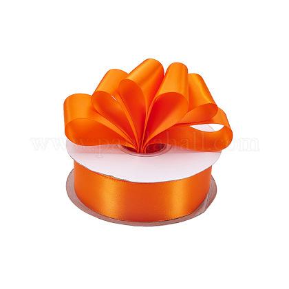 Rubans satin de double face de 100% polyester pour emballages de cadeauxSRIB-L024-3.8cm-751-1