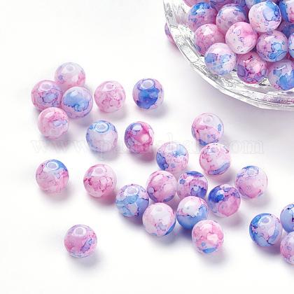 Rociar perlas de resina pintadasRESI-K005-02F-1