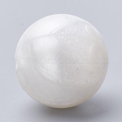 Abalorios de silicona ambiental de grado alimenticioSIL-R008D-21-1