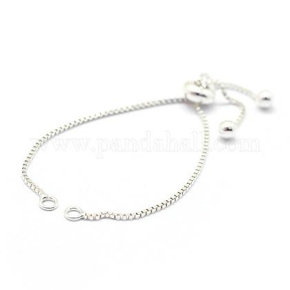Sterling Silver Chain Bracelet MakingX-MAK-L016-001S-1