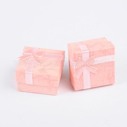 Boîtes à bagues en cartonCBOX-G003-08D-1