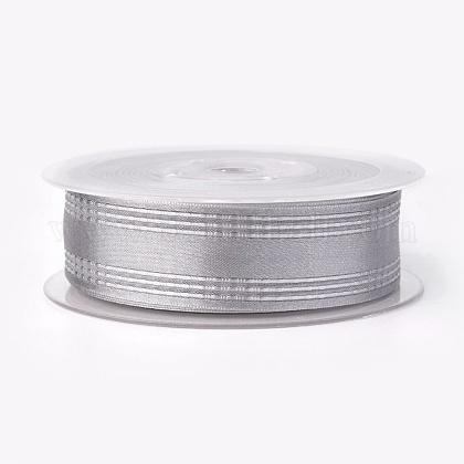 Ruban satin polyester simple faceSRIB-L041-25mm-A072-1