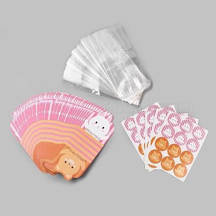 Sacs d'emballage bricolagePE-WH0002-01-1