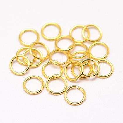 Anillos de bronce ambiental para saltarKK-E711-050-4mm-G-NR-1