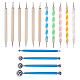 Professional DIY Stainless Steel Polymer Clay Tools and UV Gel Painting Nail Art Dotting PenTOOL-BC0008-13P-1