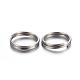304 Stainless Steel Split RingsSTAS-P223-22P-02-2