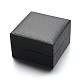Square PU Leather Jewelry Boxes for Watch CON-M004-08-1