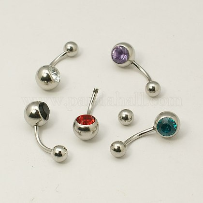 Stainless Steel Belly RingsEJEW-I053-02B-1