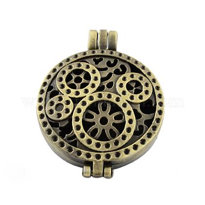Románticas ideas del día de san valentín para la esposa con su foto de estilo tibetano colgantes medallón difusorTIBEP-A24733-AB-FF-1