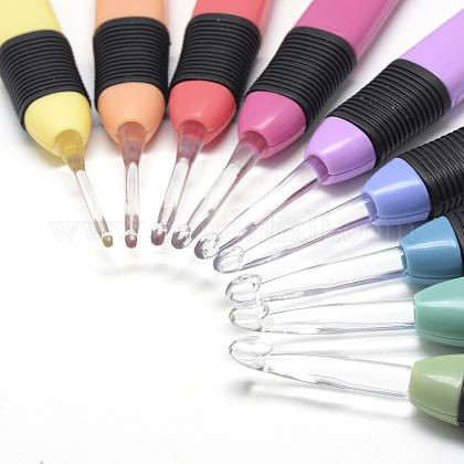 軽いプラスチックのかぎ針編みのフックの針を導いたTOOL-Q010-20-B-1