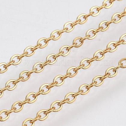 Chaînes de câbles en 304 acier inoxydableCHS-R002-0.5mm-G-1